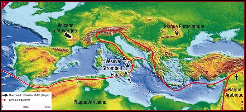 Plattentektonik Europa